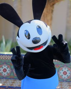Find this Pin and more on OSWALD THE LUCKY RABBIT by Sarah Thurmond. : oswald the lucky rabbit costume  - Germanpascual.Com