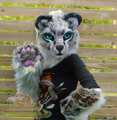 Fursuit Partial Andean Mountain Cat by Hidden Treasury Fursuits www.etsy.com/au/shop/HiddenTreasury12