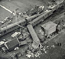 1962 Jan. 8th. Harmelen train disaste, worst railway accident in the history of the Netherlands. 93 deaths.