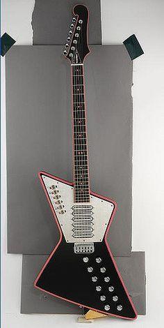 Rick Neilson Cheap Trick | Custom guitar made for Rick Neils… | Flickr