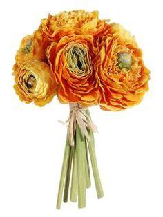 Ranunculus, gorgeous! http://www.afloral.com/Silk-Flowers-Artificial-Flowers-Fake-Flowers/Ranunculus                                                                                                                                              $7 a bunch!