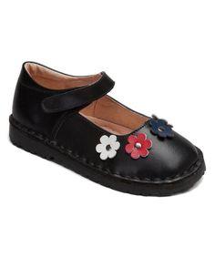 Black Rachel Leather Mary Jane