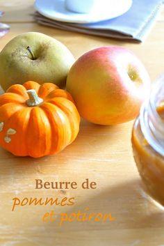 """""""Beurre"""" de pommes et potiron (vegan) #tartinade #automne #hiver #courge #citrouille #brunch #petitdéjeuner"""
