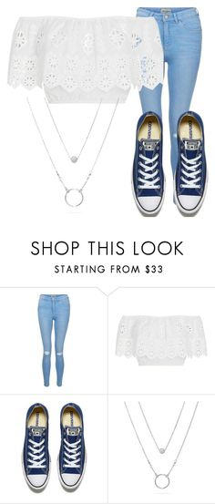 """""""summer"""" by san-gasseling on Polyvore featuring New Look, Miguelina and Converse"""