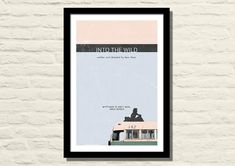 Into The Wild Movie Poster, Art Print, 11 X 17, Minimalist Movie Poster, Home Decor A unique signed edition poster made for fans of the film