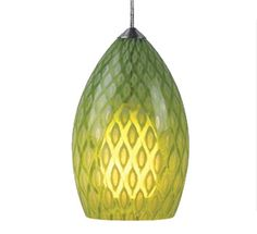 Cool pattern in this pendant light