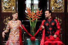 This couple have taken 4 years, 5 continents, 70 countries (and weddings!) and over 150,000 miles to get to their traditional Peranakan and Malay wedding in Penang, Malaysia. Read all about their inspiring project in our full feature. // 2People1Life: Alex and Lisa's Traditional Wedding in Penang