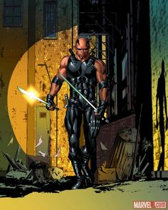 Blade by Mike Deodato Jr.