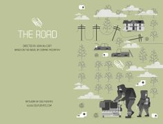 The Road. VHS Cassette cover for the Not For Rental Exhibition. London 2013.