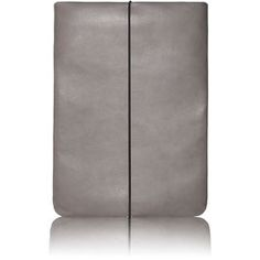 Grey Leather Notebook Skin