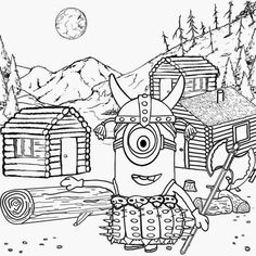 Despicable Me Coloring Pages Free Printable Sheets For Kids 5 150x150