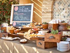 Best Caterers In Los Angeles « CBS Los Angeles I love the Rustic Layout of this…