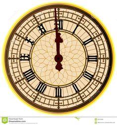big-ben-midnight-clock-face-london-icon-showing-o-52372582.jpg (1300×1390)