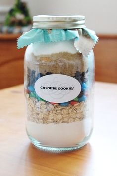 Cowgirl Cookie Jar Mix