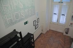 Saw it and made it - Hipster Hostel Budapest