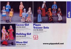 Pippa Trade Catalogues Not everything here was issued