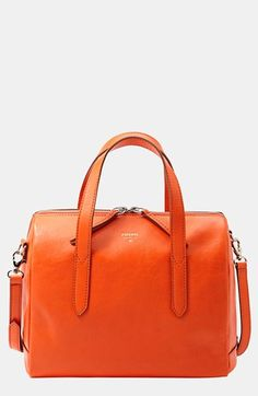 Fossil 'Sydney' Satchel available at #Nordstrom