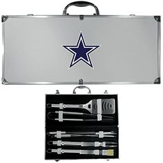 NFL Dallas Cowboys 8Piece Barbecue Set >>> Continue to the product at the image link.