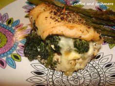 Spinach Stuffed Chicken