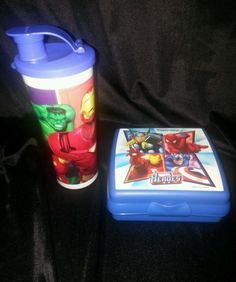 New-Tupperware-Kids-Marvel-Heroes-Lunch-Set...Keep everything fresh and awesome looking in this set!  Only $9.99