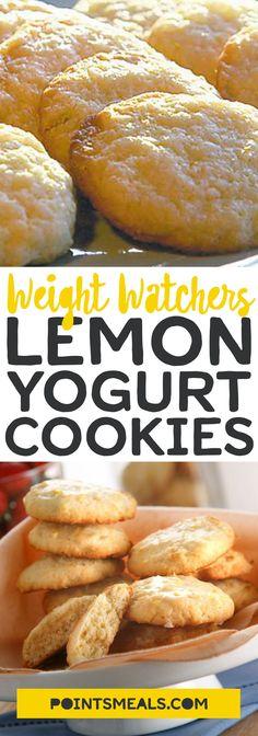 #weight_watchers Lemon Yogurt Cookies #dessert #cookies