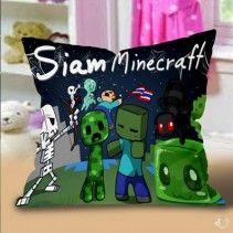 Siam Minecraft Pillow Cases