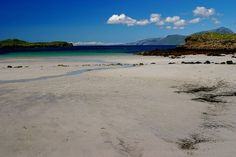 Scottish Beaches and Sand - Scotland at Arisaig on the West Coast. Simply stunning!