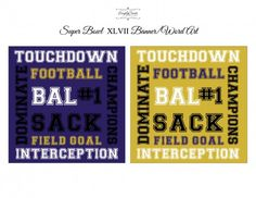 free super bowl party printables ravens