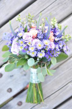 Rustic Purple Bridal