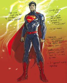 Superman-New-52-concept-art-Jim-Lee.jpg 660×816 pixels