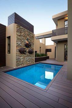 Small pool side deck, installer by Eva-Last.  see www.eva-last.com