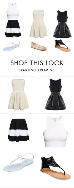 """""""8th grade luncheon which one"""" by nosaj14 ❤ liked on Polyvore featuring Superdry, H&M, L.K.Bennett, Wet Seal and ZiGiny"""