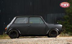 flat black mini clubman