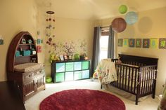 Project Nursery - Boy Owl Nursery Room View