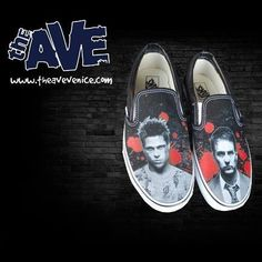 Fight Club shoes  By Vans