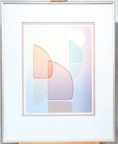 16 x 11 13 MCM Original Peaches Painting on Rice Paper Framed Behind Glass 50/'s Japanese Vintage Art Artist Decor Mid Century