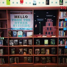 The Adele and Mario Bros Library Display at Medford Public Library - Teens