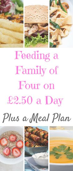 Family on a Budget: How to Feed a Family of Four on a Day How to feed a family for just a day plus meal plan by Laura at Savings 4 Savvy Mums.How to feed a family for just a day plus meal plan by Laura at Savings 4 Savvy Mums. Cooking Recipes For Dinner, Cooking For A Crowd, Cooking On A Budget, College Cooking, Cooking Pork, Supper Recipes, Cooking School, Cooking Ideas, Family Meal Planning