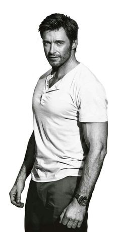 Hugh Jackman got a bit of a soft spot for this man. Then again, who doesn't? :)
