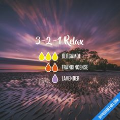 3-2-1 Relax - Essential Oil Diffuser Blend