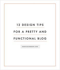 Blogging Tips, Resources, Tricks, and Strategies   http://ShaniceCameron.com Blog