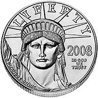 As America's official platinum bullion coin, American Eagle Platinum Bullion Coins give investors an easy way to take advantage of platinum as a precious metal investment. Authorized by Congress in 1996 and first issued in 1997, they are the first and only official investment-grade platinum coins from the United States Government.