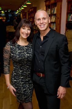 """Michelle Hassan At Judge Rinder Book Launch Party. Robert Rinder attends the launch of his new book """"Rinder's Rules: Make the Law work for you!"""" at Daunt Books on October 5th 2015 in London."""