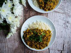 Indisk curry - Opskrift på vegetarisk indisk gryderet