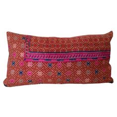 Amber Lewis Embroidery Pillow I