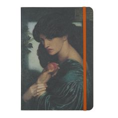 The Rossetti Notebook is from the new Tate Notebooks and Notecards range, featuring four of Tate's best-loved artists. Each notebook is 210 mm high and 148 mm wide, has 192 plain pages, bound by coloured elastic band with a built-in pocket at the back. A5 Notebook, Note Cards, Stationery, Notebooks, Artwork, Heaven, Range, Artists, Pocket