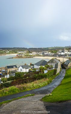 Hugh Town on St Mary's in the Isles of Scilly, England