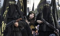 Female ISIS soldier