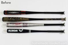 How To: Turn an Aluminum Baseball Bat into a Modern Pendant Light