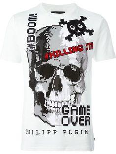 PHILIPP PLEIN 'Game Over' T-Shirt. #philippplein #cloth #t-shirt